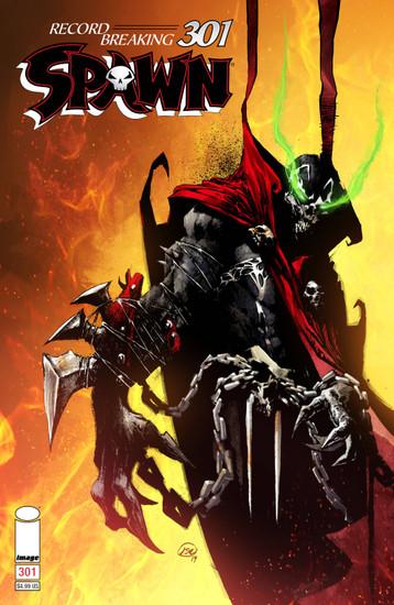 Image Comics Spawn #301 Comic Book [Jason Shawn Alexander Cover D]