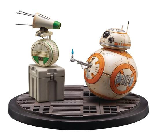 Star Wars The Rise of Skywalker ArtFX D-O & BB-8 Statue