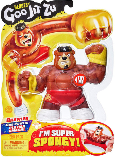 Heroes of Goo Jit Zu Brawler Action Figure [Bear]