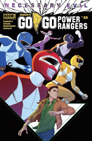 Boom Studios Go Go Power Rangers #25 Necessary Evil Comic Book