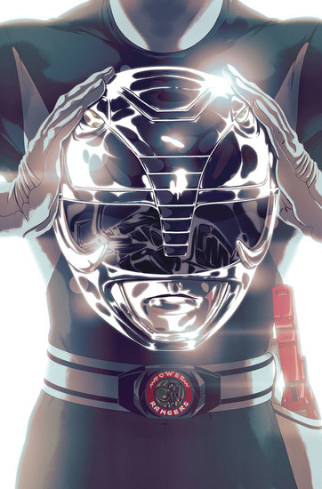 Boom Studios Mighty Morphin Power Rangers #45 Necessary Evil Comic Book [Goni Montes Foil Variant Cover]