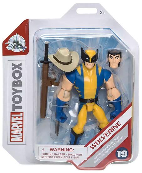 Disney Marvel Toybox Wolverine Exclusive Action Figure