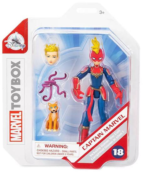 Disney Toybox Captain Marvel Exclusive Action Figure