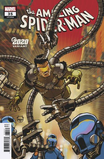 Marvel Comics Amazing Spider-Man #35 2099 Comic Book [Dave Johnson 2020 Variant]