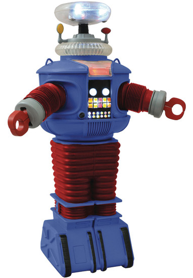 Lost in Space Select B9 Electric Robot Action Figure [Retro Version, Damaged Package]
