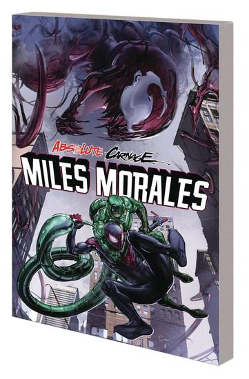 Marvel Comics Absolute Carnage Miles Morales Trade Paperback Comic Book