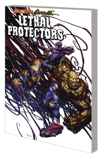 Marvel Comics Absolute Carnage Lethal Protectors Trade Paperback Comic Book