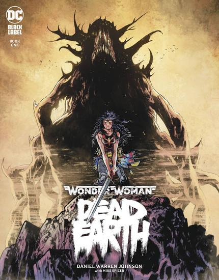 DC Black Label Wonder Woman Dead Earth #1 of 4 Comic Book