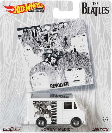 Hot Wheels The Beatles Revolver Die-Cast Car #3/5 [Combat Medic]