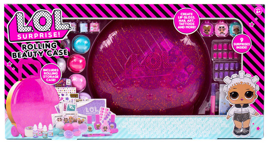 LOL Surprise Makeover Rolling Beauty Case Playset