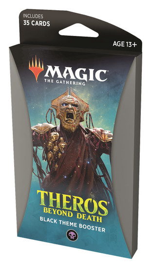MtG Trading Card Game Theros Beyond Death Black Theme Booster