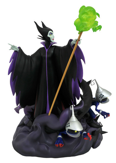 Disney Kingdom Hearts Gallery Maleficent 11-Inch Collectible PVC Statue