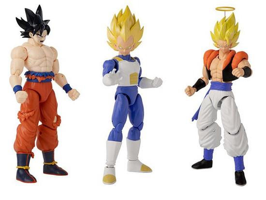 Dragon Ball Super Dragon Stars Series 15 Super Saiyan Gogeta, Vegeta V2 & Instinct Goku Set of 3 Action Figures (Pre-Order ships June)