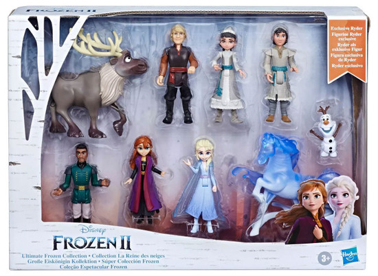 Disney Frozen 2 Ultimate Frozen Collection Exclusive 4-Inch Small Doll 9-Pack