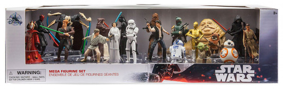 Disney 2019 Star Wars Exclusive 20-Piece PVC Mega Figurine Playset