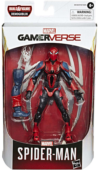 Gamerverse Marvel Legends Demogoblin Series Spider-Man Action Figure [Spider-Armor MK III]