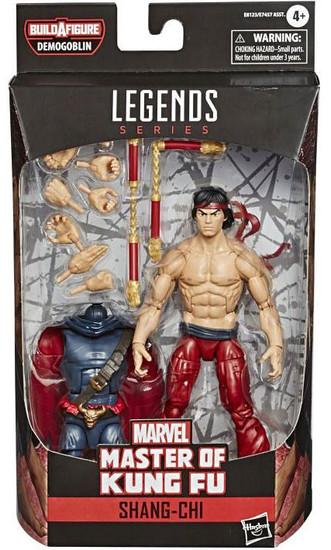 Master of Kung Fu Marvel Legends Demogoblin Series Shang-Chi Action Figure
