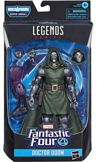 Fantastic Four Marvel Legends Super Skrull Series Doctor Doom Action Figure