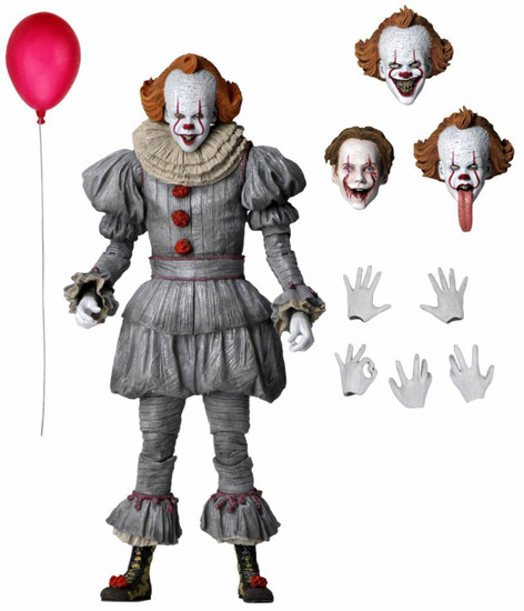 NECA IT Chapter 2 Pennywise Action Figure [Ultimate Version, 2019 Movie]