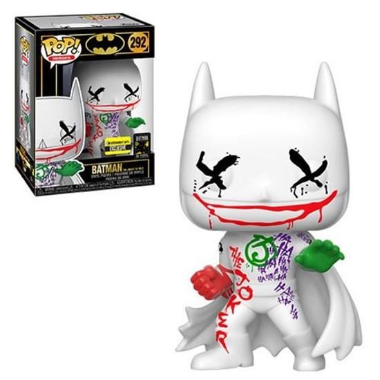 Funko POP! Heroes Jokers Wild Batman Exclusive Vinyl Figure #292