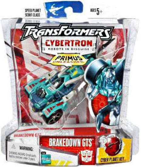 Transformers Cybertron Primus Unleashed Scout Brakedown GTS Scout Action Figure