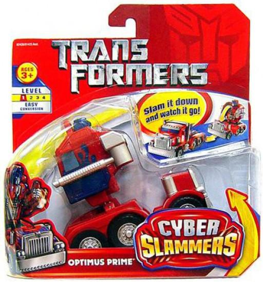 Transformers Movie Cyber Slammers Optimus Prime Action Figure