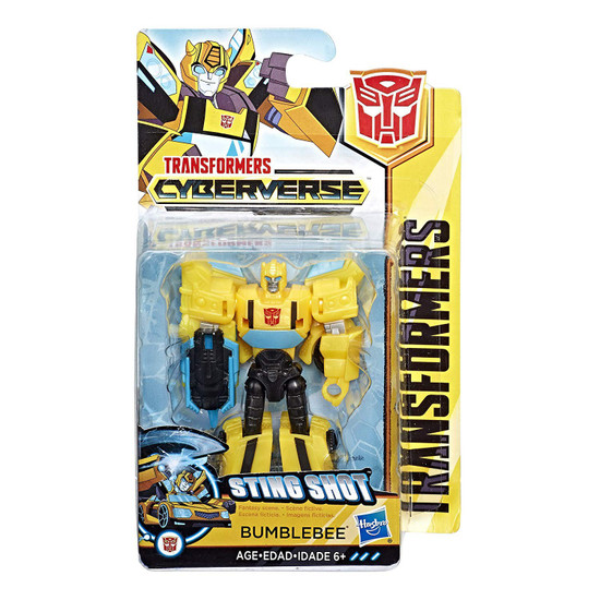 Transformers Cyberverse Bumblebee Scout Action Figure