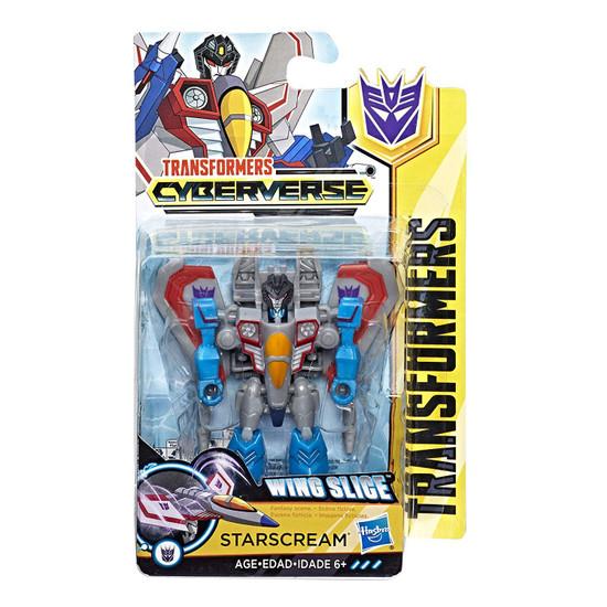 Transformers Cyberverse Starscream Scout Action Figure