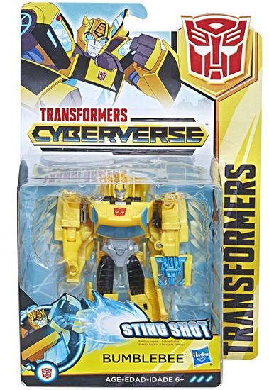 Transformers Cyberverse Bumblebee Warrior Action Figure [Sting Shot]