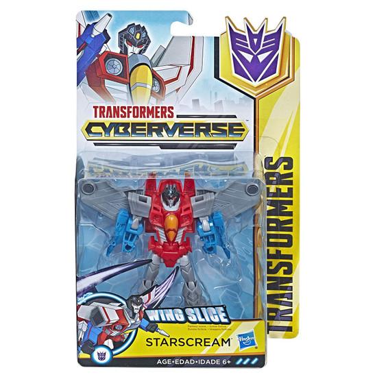 Transformers Cyberverse Starscream Warrior Action Figure
