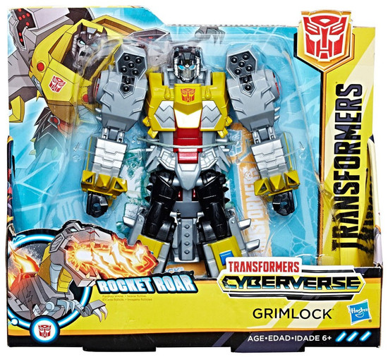 Transformers Cyberverse Grimlock Ultra Action Figure