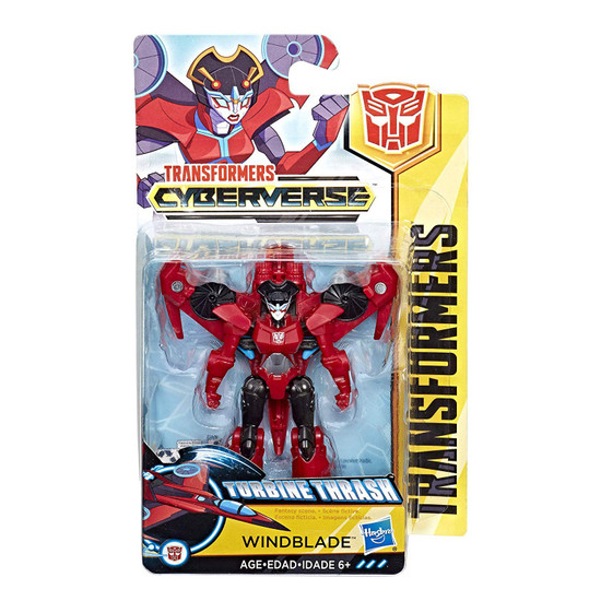 Transformers Cyberverse Windblade Scout Action Figure