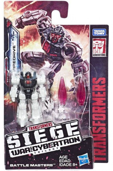 Transformers Generations Siege: War for Cybertron Trilogy Firedrive Battle Master Action Figure WFC-S1