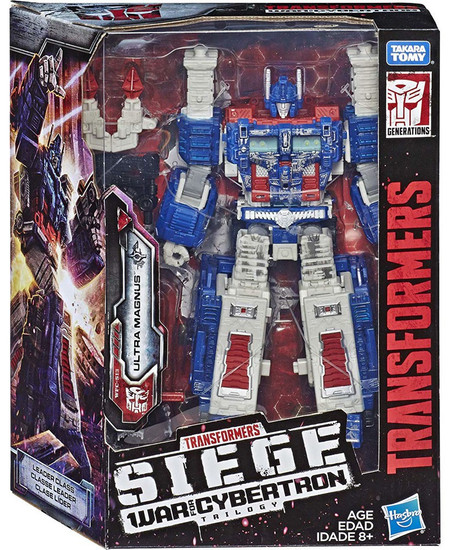 Transformers Generations Siege: War for Cybertron Trilogy Ultra Magnus Leader Action Figure WFC-S13