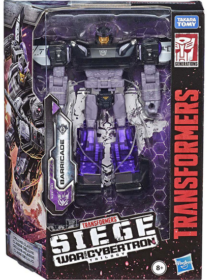 Transformers Generations Siege: War for Cybertron Trilogy Barricade Deluxe Action Figure WFC-S41