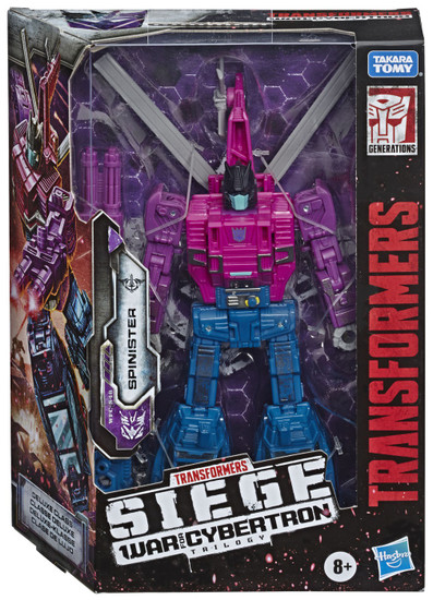 Transformers Generations Siege: War for Cybertron Trilogy Spinister Deluxe Action Figure