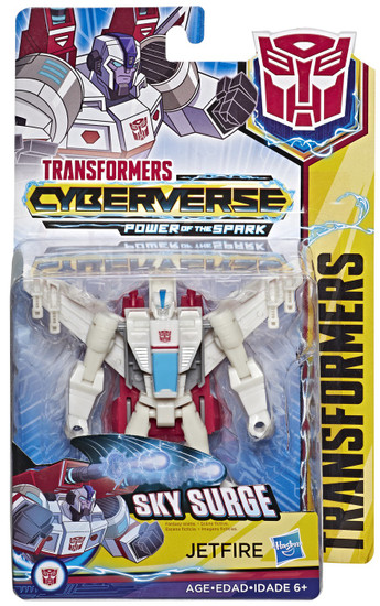Transformers Cyberverse Power of the Spark Jetfire Warrior Action Figure