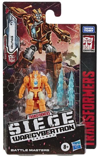 Transformers Generations Siege: War for Cybertron Trilogy Rung Battle Master Action Figure