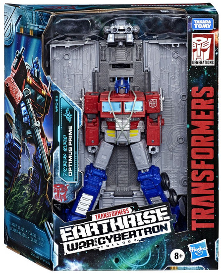 Transformers Generations Earthrise: War for Cybertron Trilogy Optimus Prime Leader Action Figure WFC-E11