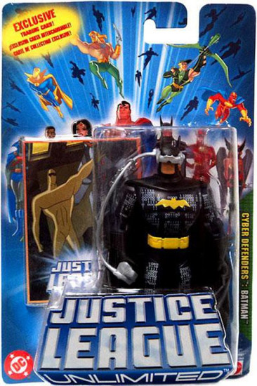 Justice League Unlimited Batman Action Figure [Cyber Defenders]