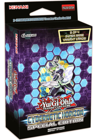 YuGiOh Trading Card Game Cybernetic Horizon Special Edition [3 Booster Packs & 1 RANDOM Promo Card]