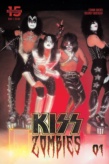 Dynamite Entertainment Kiss Zombies #1 Comic Book [Cover D Photo Variant]