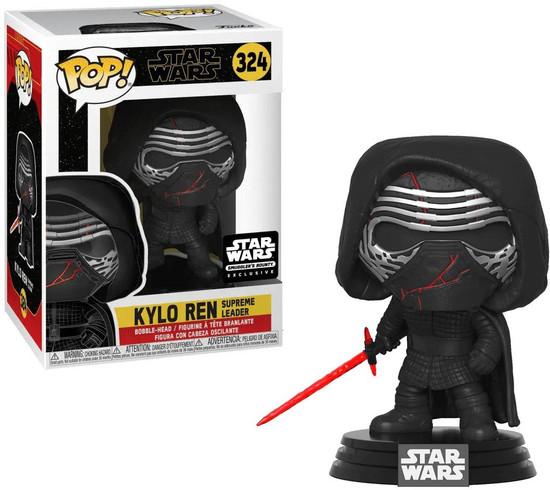 Funko The Rise of Skywalker POP! Star Wars Kylo Ren Supreme Leader Exclusive Vinyl Bobble Head #324 [Forces of Darkness]