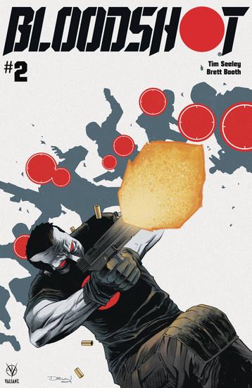 Valiant Comics Bloodshot #2 Comic Book [Declan Shalvey Cover A]