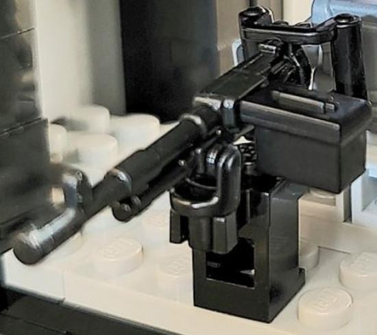 BrickArms M240D Door Machine Gun 2.5-Inch [Black]
