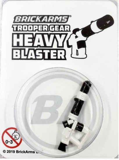 BrickArms Trooper Gear Heavy Blaster Minifigure Accessory [Overmolded]