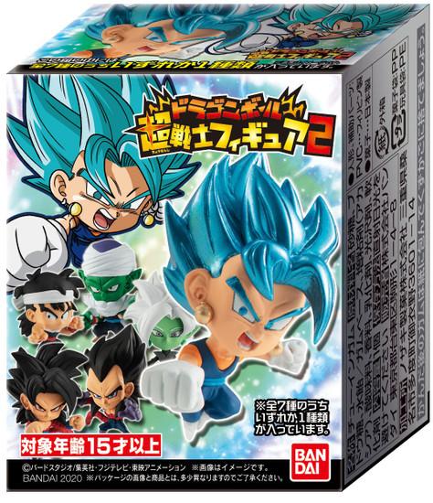 Dragon Ball Super Warriors 2 Dragon Ball Super Warriors 1.75-Inch Mystery Pack (Pre-Order ships October)