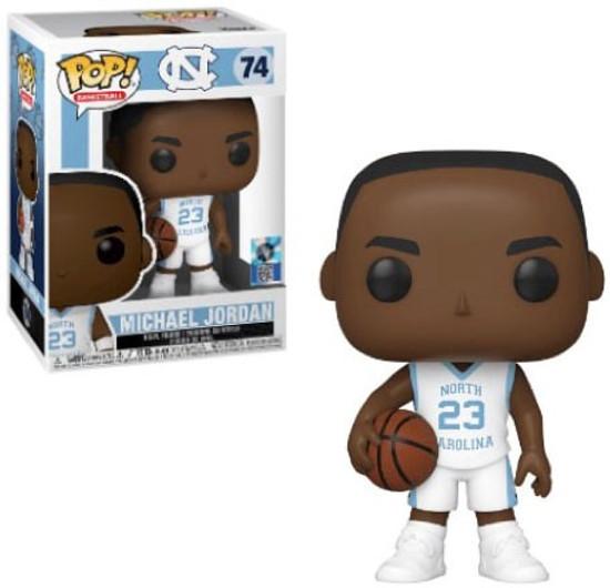 Funko University of North Carolina POP! Basketball Michael Jordan Vinyl Figure #74 [White Uniform]