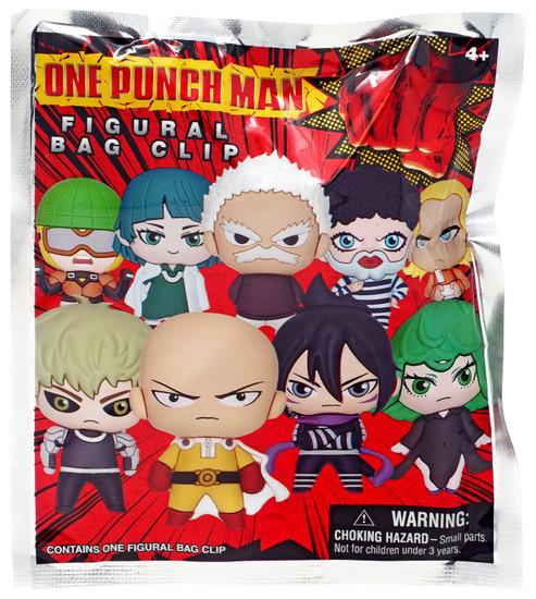 3D Figural Foam Bag Clip One Punch Man Series 1 Mystery Pack [1 RANDOM Figure]