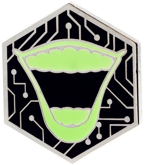 Funko DC Batman 80th The Joker Exclusive 1.5-Inch Pin [Gamer, Glow-in-the-Dark]